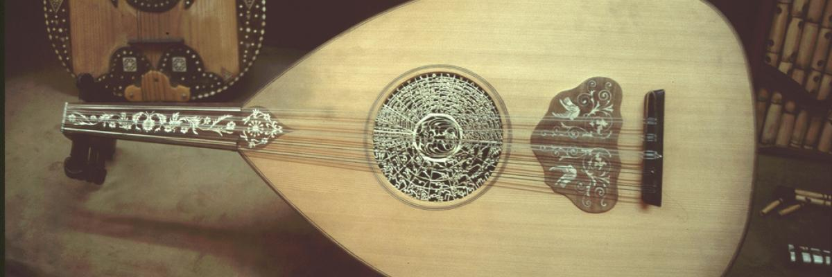 arabic Ud (Lute) at the Azem Palace Damascus by captain.orange, Licence CC : BY-ND