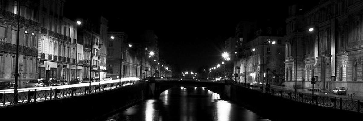 Rennes by night, étude n°2 par Patrick Gaillard, licence CC:BY. Source [Flickr]