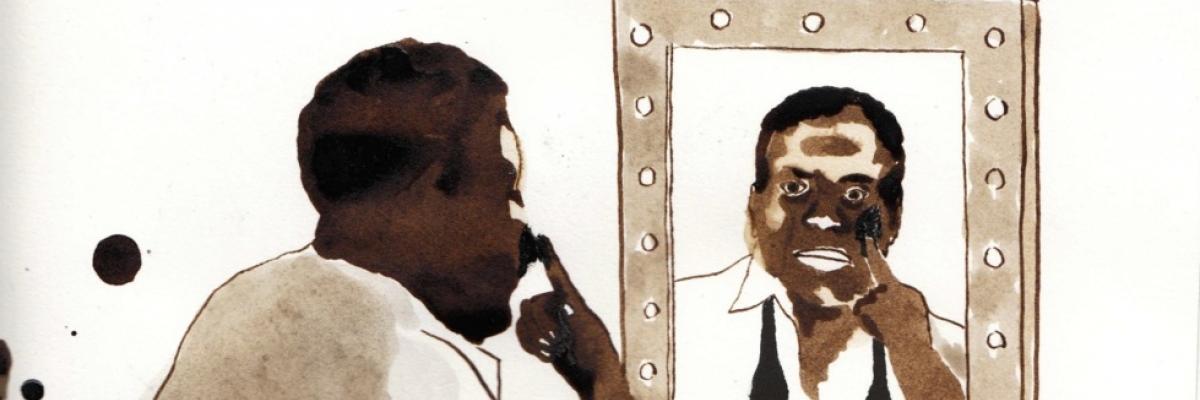 """Illustration pour le spectacle """"Johnny's scrapbook"""" avec l'autorisation de l'auteur Guillaume Carreau"""