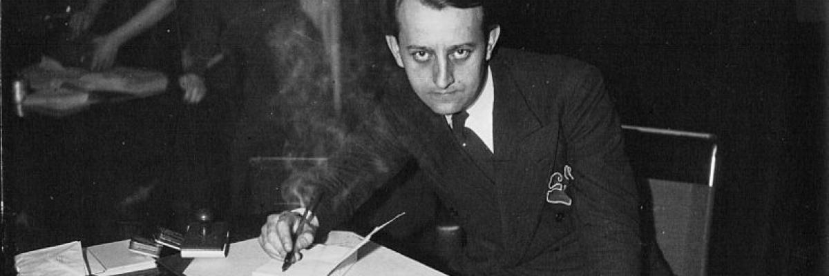 André Malraux, 1933, Meurisse. Source [wikimedia commons]