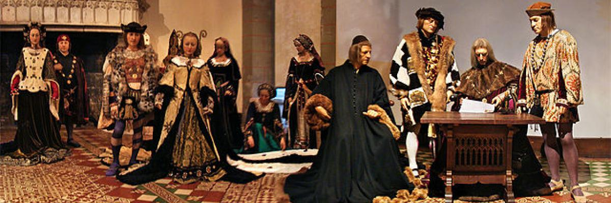 Mariage d'Anne de Bretagne avec Charles VII. Source: Wikimedia Commons