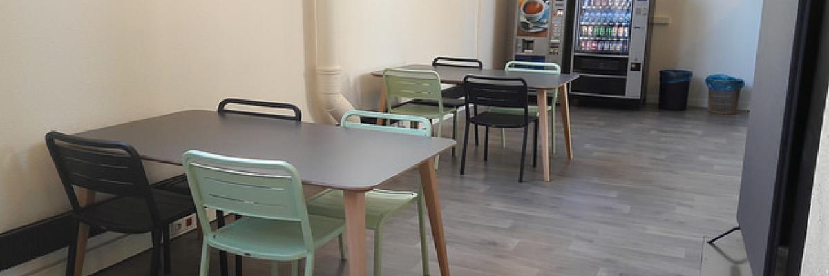 Cafétéria BU centrale Rennes 2
