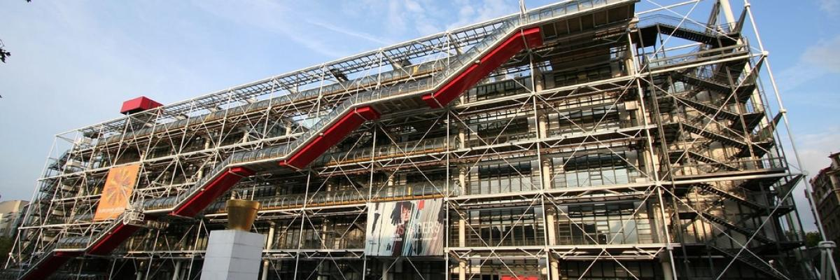 Centre Pompidou, Paris par SAITOR, licence CC:BY-SA-NS, source [Flick'r]