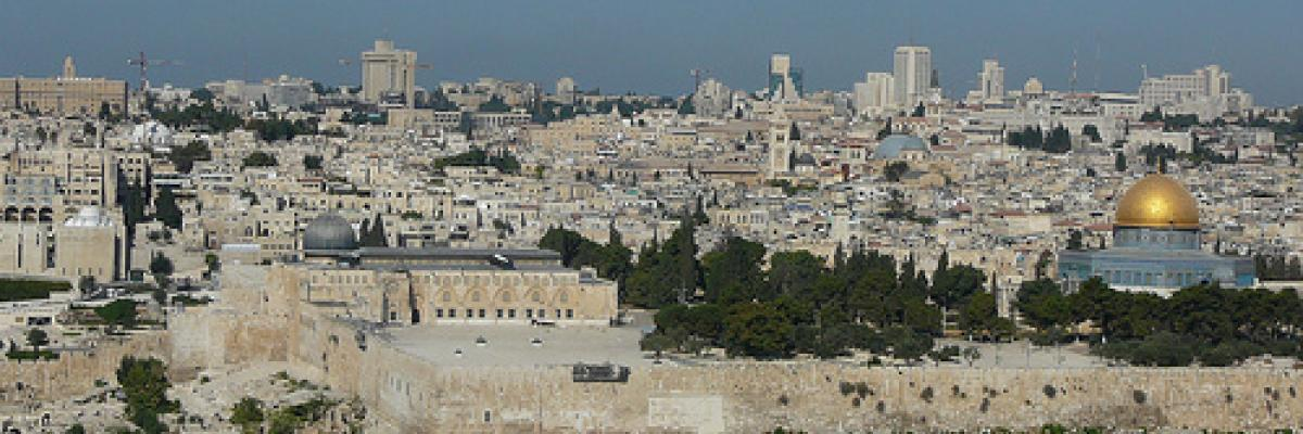 Jerusalem par Cycling Man, Licence CC : BY-NC-ND. Source [Flickr]