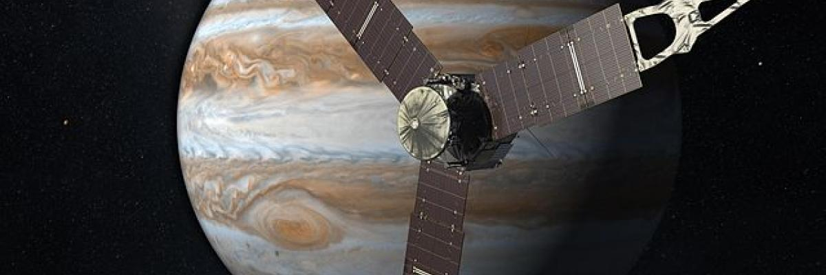 Juno Jupiter par NASA. Source [Wikimedia Commons]