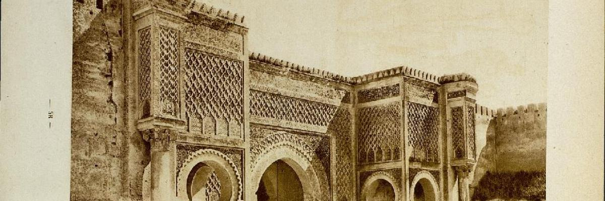 Porte monumentale de Bab-el-Sour à Meknes, CC0 don universel au domaine public