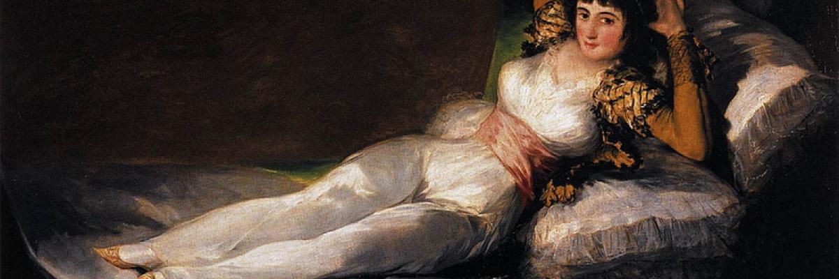 Goya_Maja_Ubrana par Gérard Van Leun, licence CC:BY-ND-SA [source Flick'r]
