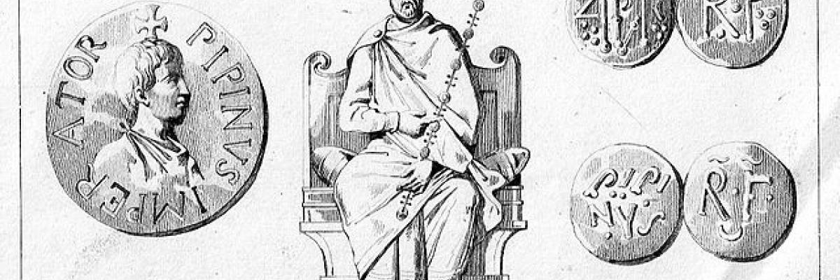Pipino III il Breve, licence CC : BY-SA. Source [Wikipedia]