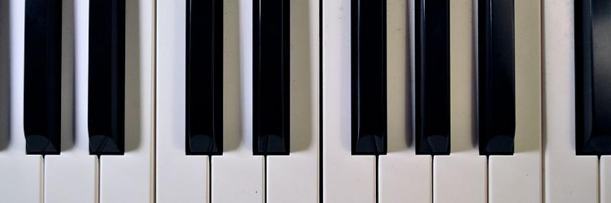 Piano Keyboard by Scott Detwiler, licence CC:BY-SA.Source [wikimedia commons]