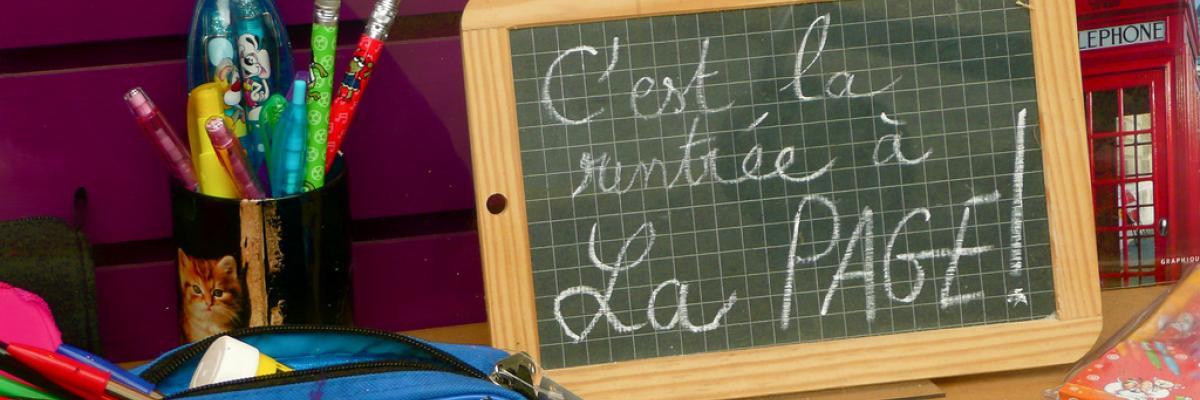 C'est la rentrée! par Yves Cosentino, licence CC : BY-SA 2.0. Source [Flickr]
