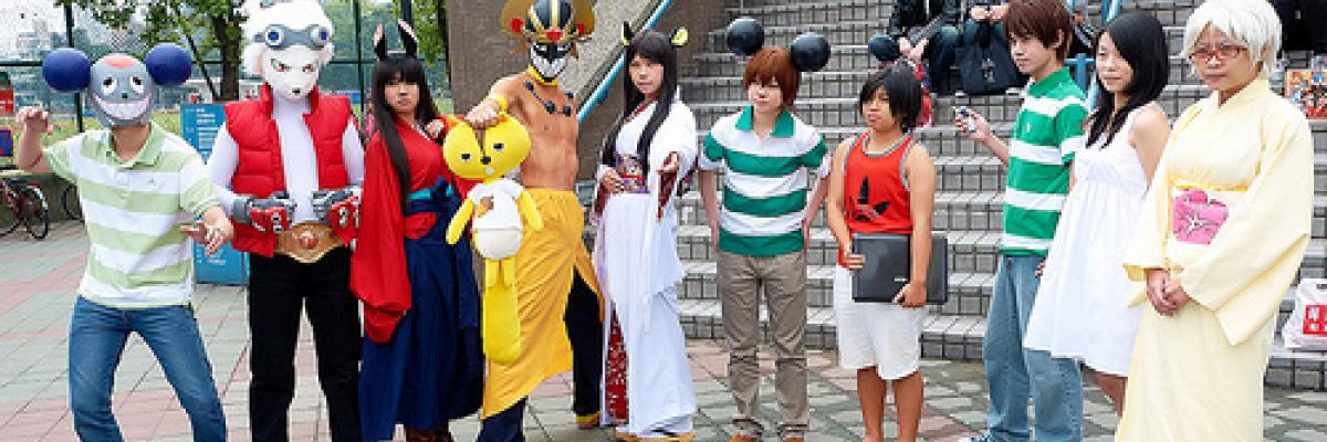 Cosplay Summer Wars par lagerex, Licence CC : BY-NC-ND. Source [Flick'r]