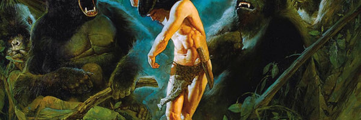 Tarzan at the Dum-Dum by Sanjulian par Tom Simpson, Licence CC : BY-NC-ND. Source [Flickr]