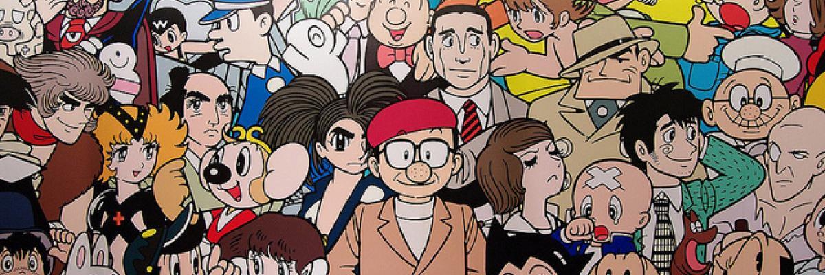 Osamu Tezuka, Licence CC-BY-NC-ND par Vincent's Album