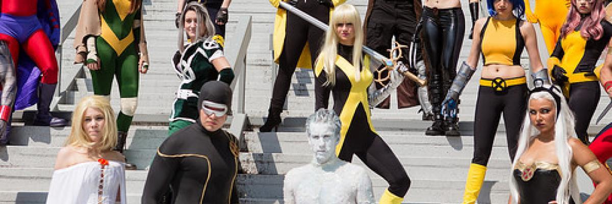 X-Men par PatLoika, Licence CC : BY-NC-ND. Source [Flickr]