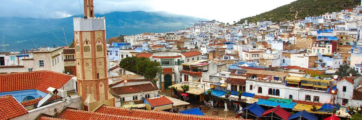 Vista de Xauen par Gabriel Rodríguez, licence CC : BY-SA. Source [Wikimedia Commons]