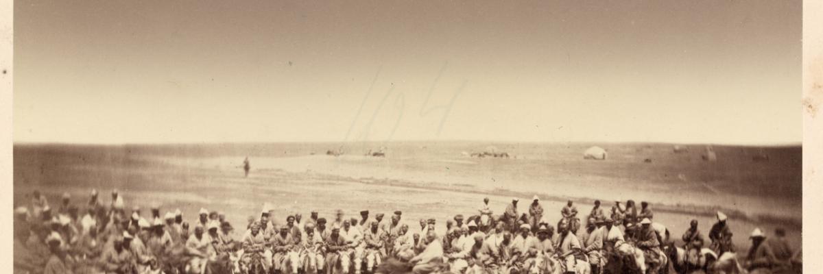 Activités quotidiennes kirghizes par Kun, Aleksandr L., 1840-1888, domaine public. Source [Wikimedia Commons]