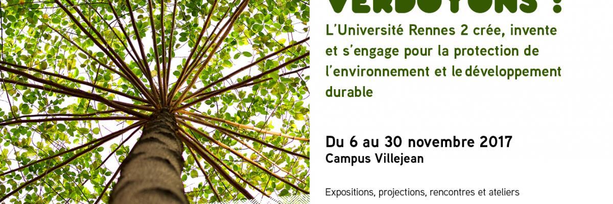Affiche dynamique Verdoyons - Rennes 2