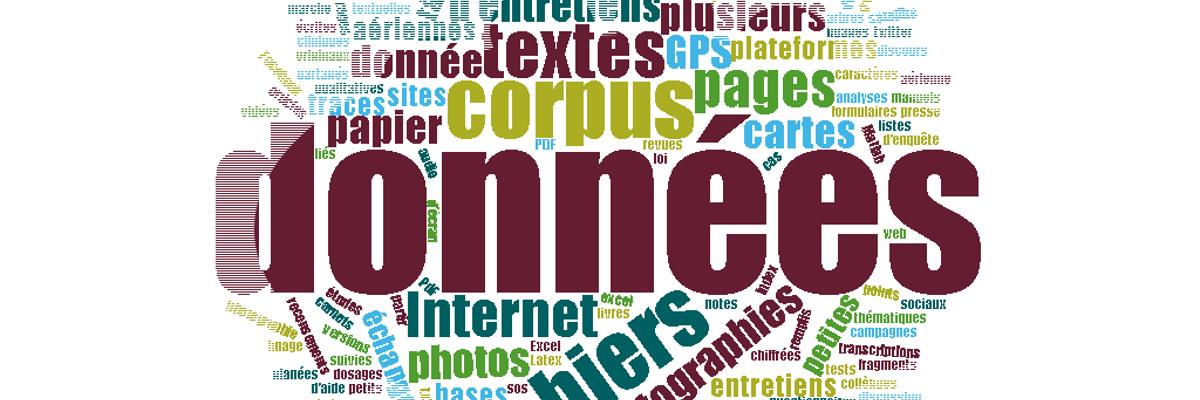 Nuage de tags données de la recherche, C. Pierre, SCD Rennes 2