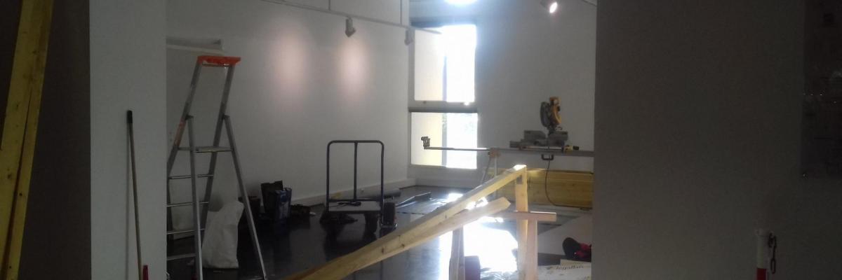 Travaux ancien espace expo