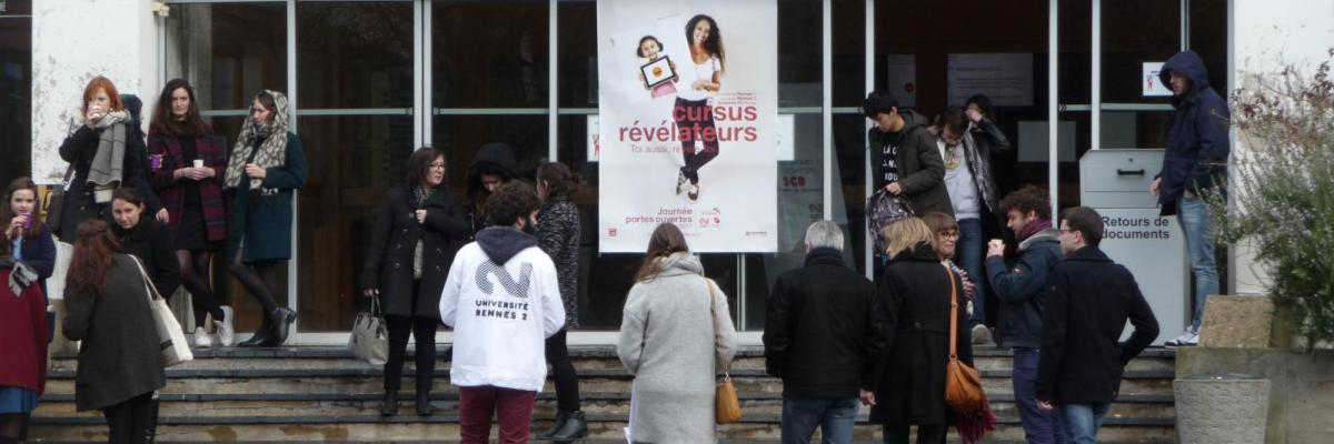 Portes ouvertes - BU Rennes 2