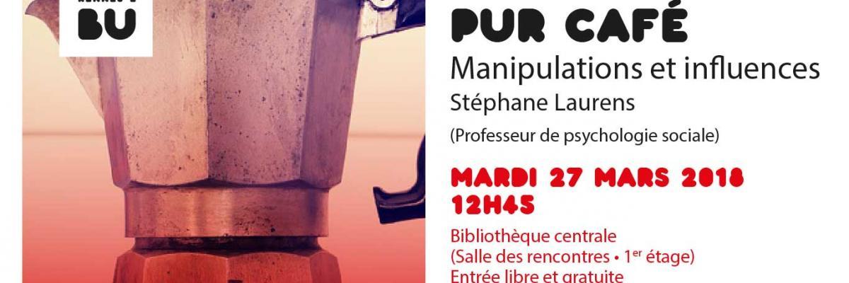 Affiche PUR Café du 27 mars 2018