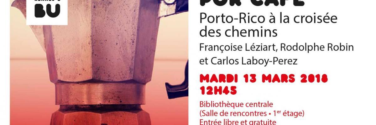 Affiche PUR Café du 13 mars 2018