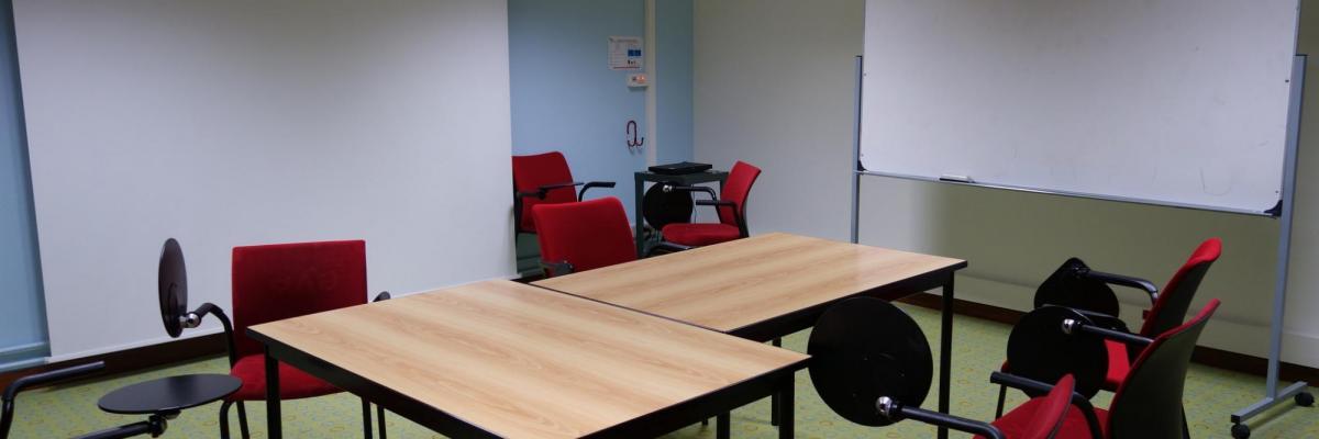 Salle de travail Médiathèque - SCD Rennes 2