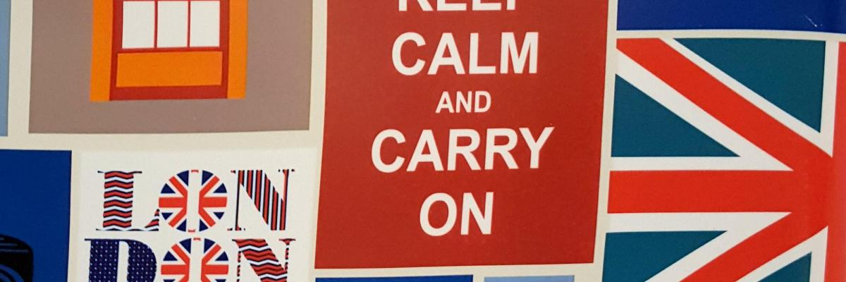 Keep calm and carry on #Brexit par malavoda, licence CC : BY-NC-ND. Source [Flickr]