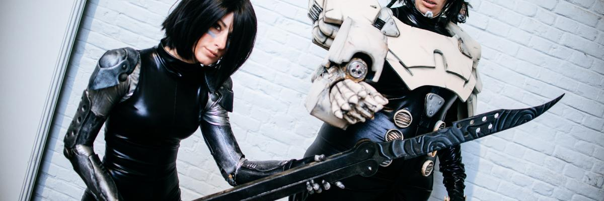 Battle Angel Alita Last Order Gally Cosplay par Kmeron, licence CC : BY-NC-ND. Source [Flickr]