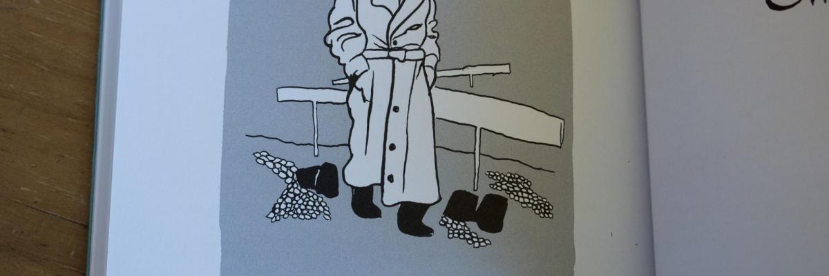 """Illustration tirée de """"Petite Jérusalem"""" (Rackham 2018), avec l'aimable autorisation de l'auteur"""