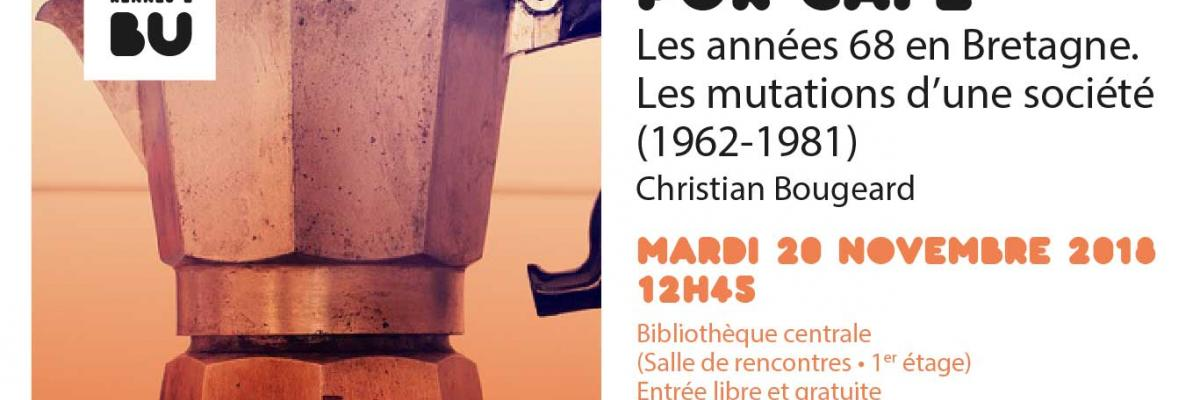Visuel du PUR Café 20/11/2018 - BU Rennes 2