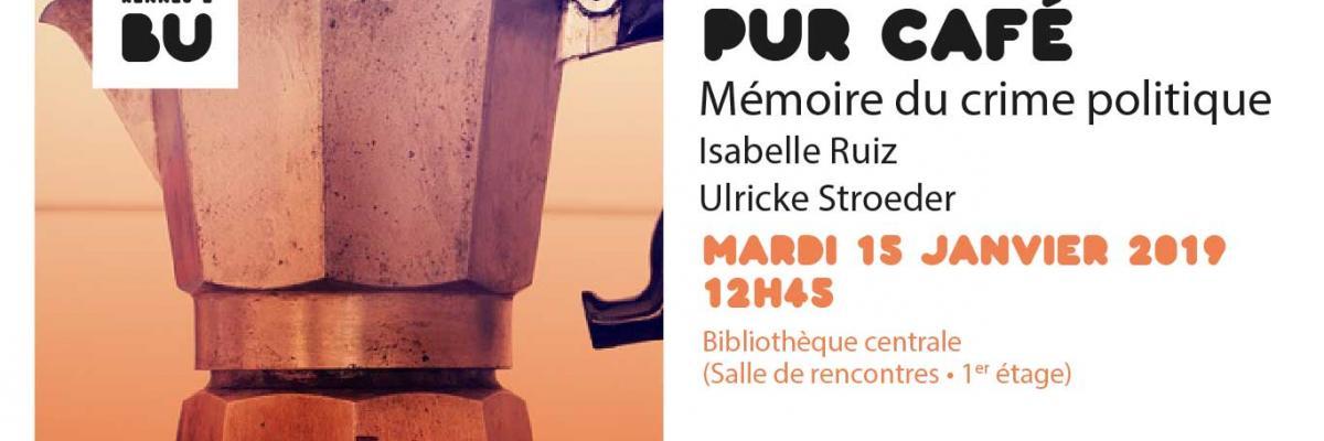 Visuel PUR café du 15/01/2019 - SCD Rennes 2