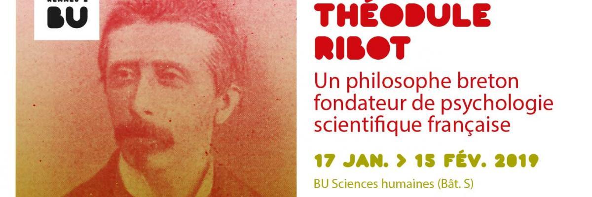 Visuel de l'exposition Théodule Ribot 2019 - SCD Rennes 2