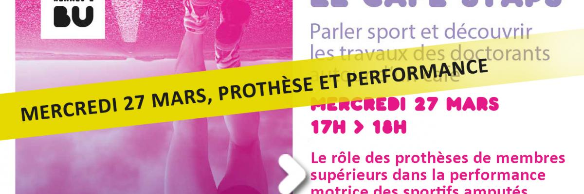 Visuel Café STAPS du 27/03/2019 - SCD Rennes 2