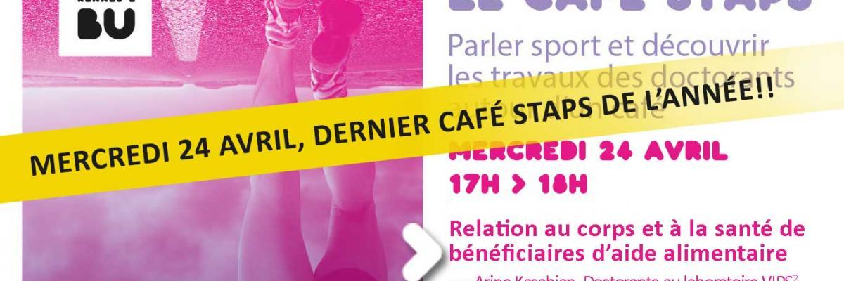 Visuel Café STAPS du 24/04/2019 - SCD Rennes 2