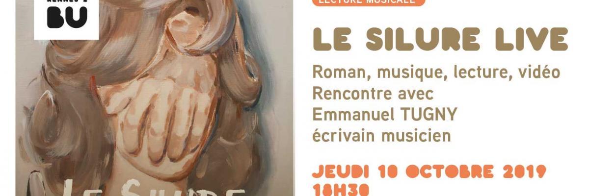 Affiche Le Silure (live) - BU Rennes 2