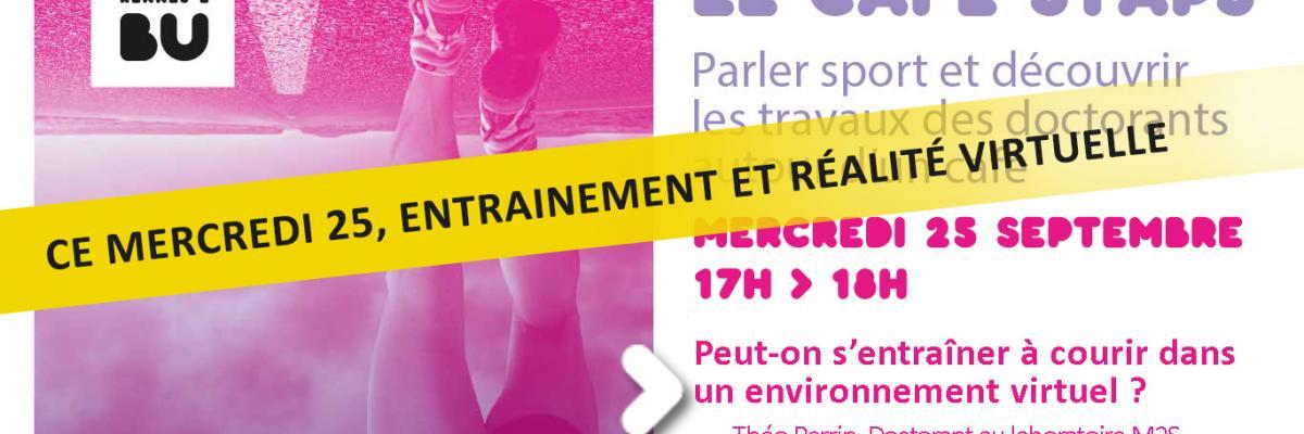 Visuel Café STAPS du 25/09/2019 - SCD Rennes 2
