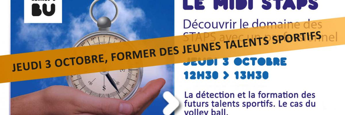 Visuel Midi STAPS du 03/10/2019 - SCD Rennes 2