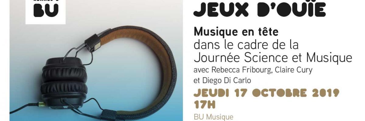 Affiche JSM 2019 - BU musique