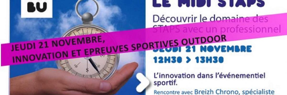 Visuel midi staps du 21/11/2019 - SCD Rennes 2