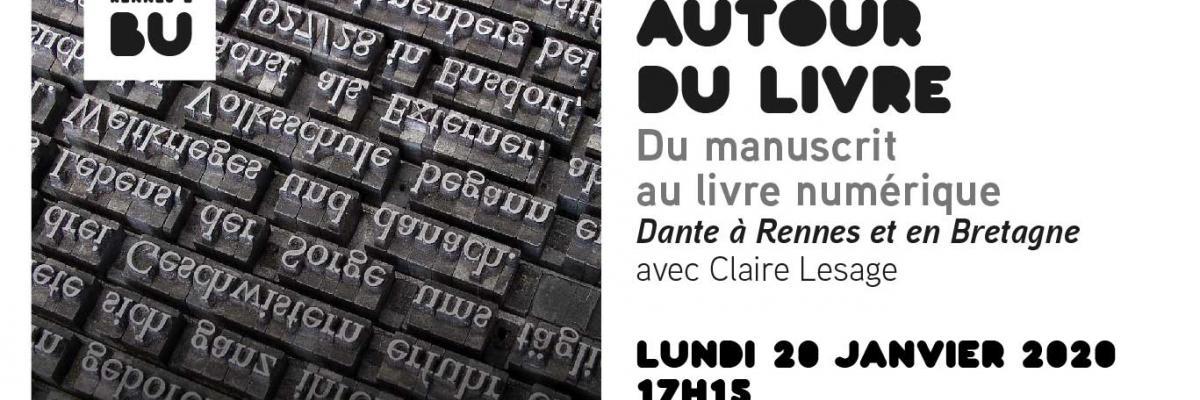 Autour du livre 2020/01/20 - BU Rennes 2