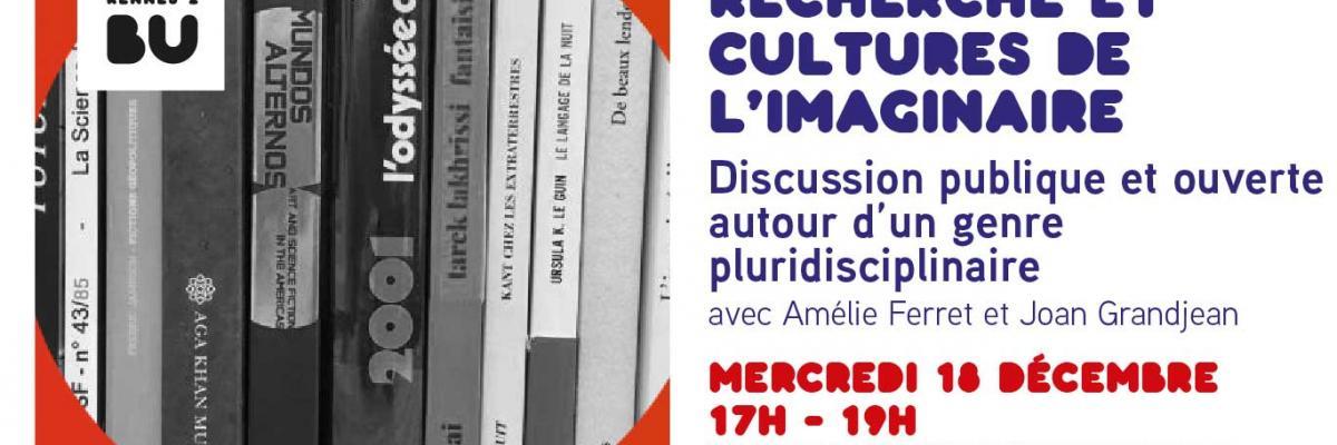 Affiche Université Rennes 2 / Laboratoire des imaginaires
