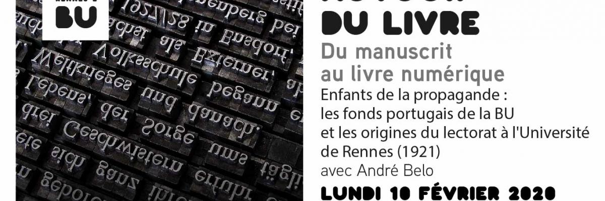 Autour du livre 2020-02-10 / BU Rennes 2