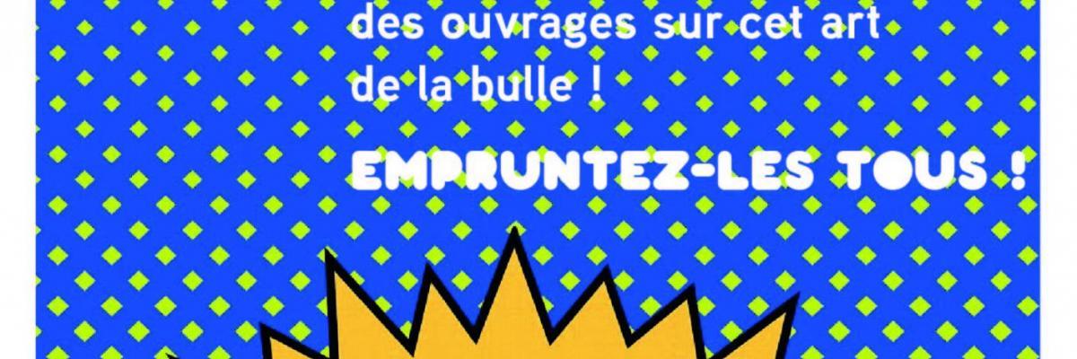 """Affiche de la table thématique """"La bande dessinée dans tous ses états"""" - BU Rennes 2"""