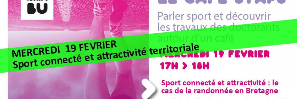 Visuel Café STAPS du 19/02/2020 - SCD Rennes 2
