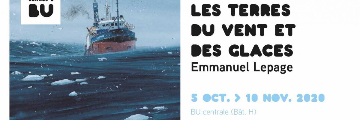 Affiche Emmanuel Lepage - BU Rennes 2