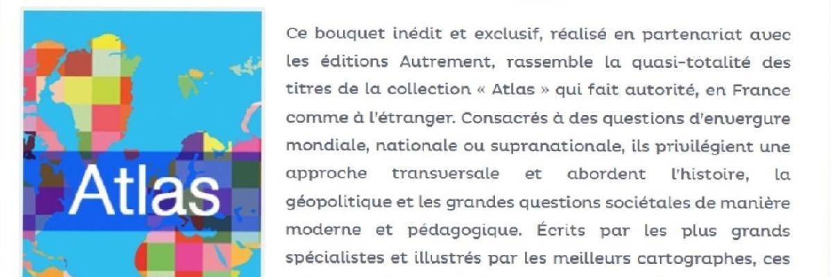 """La Collection Atlas des éditions """"Autrement"""" sur Numérique Premium"""