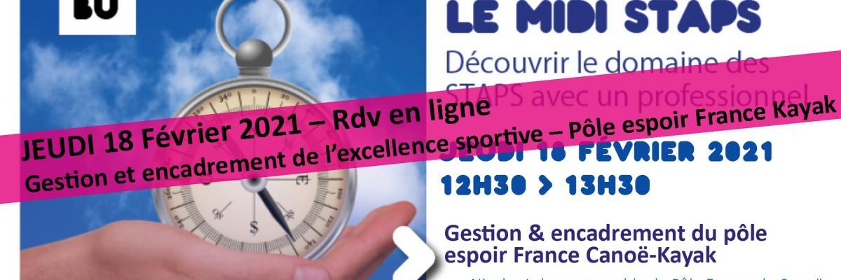 Visuel Midi STAPS 18/02/2021 - SCD Rennes 2