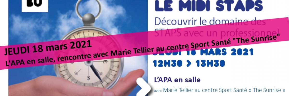 Visuel Midi STAPS 18/03/2021 - SCD Rennes 2