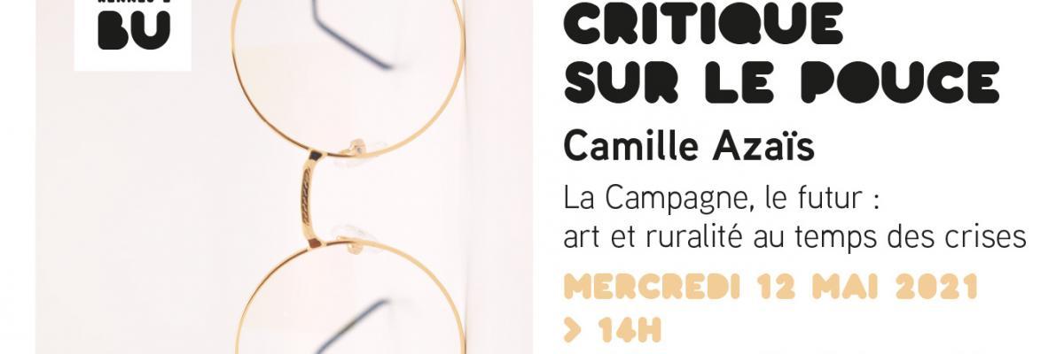 Affiche de Critique sur le pouce du 12/05/2021 - BU Rennes 2